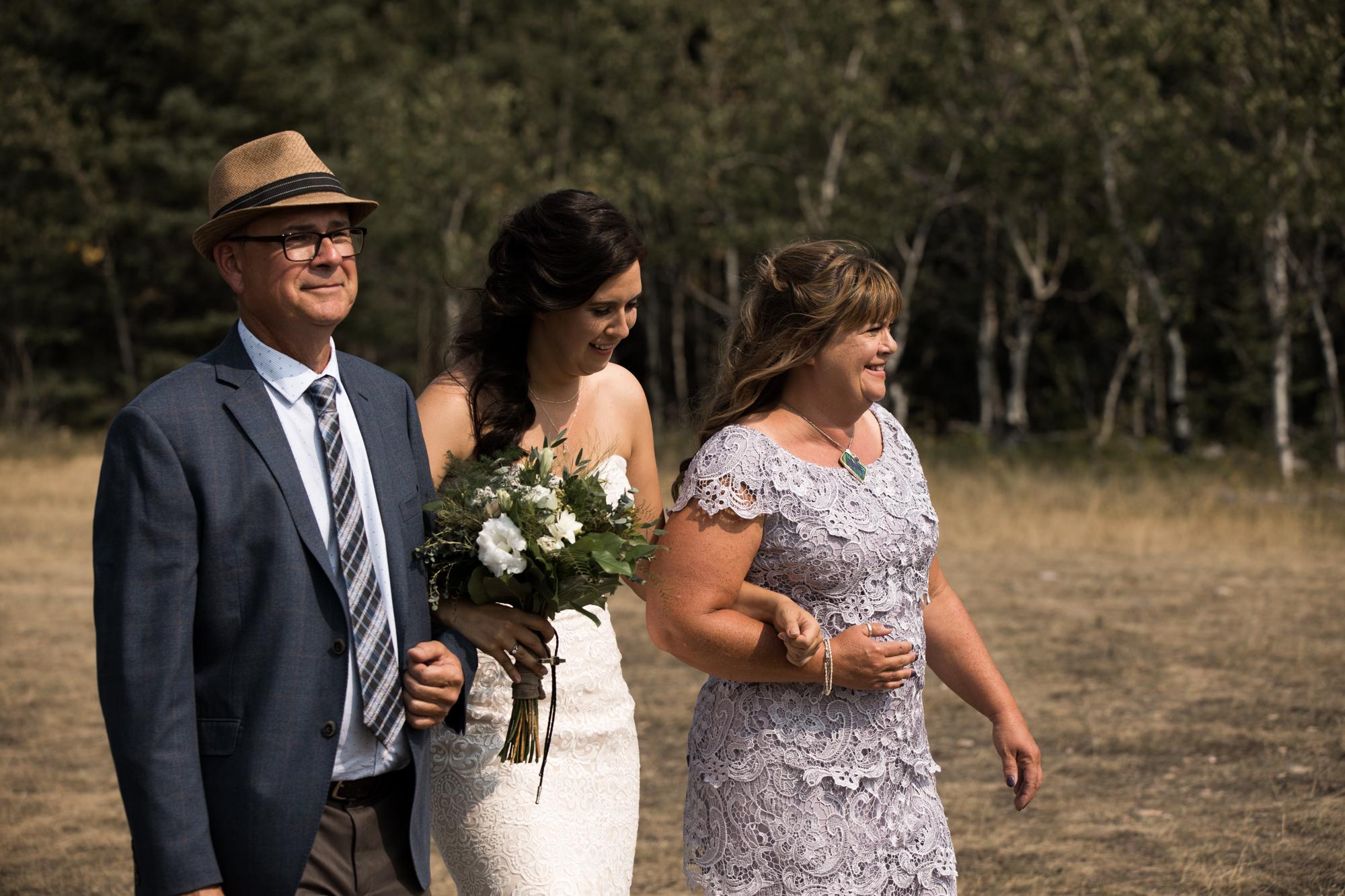Cuffley camp wedding