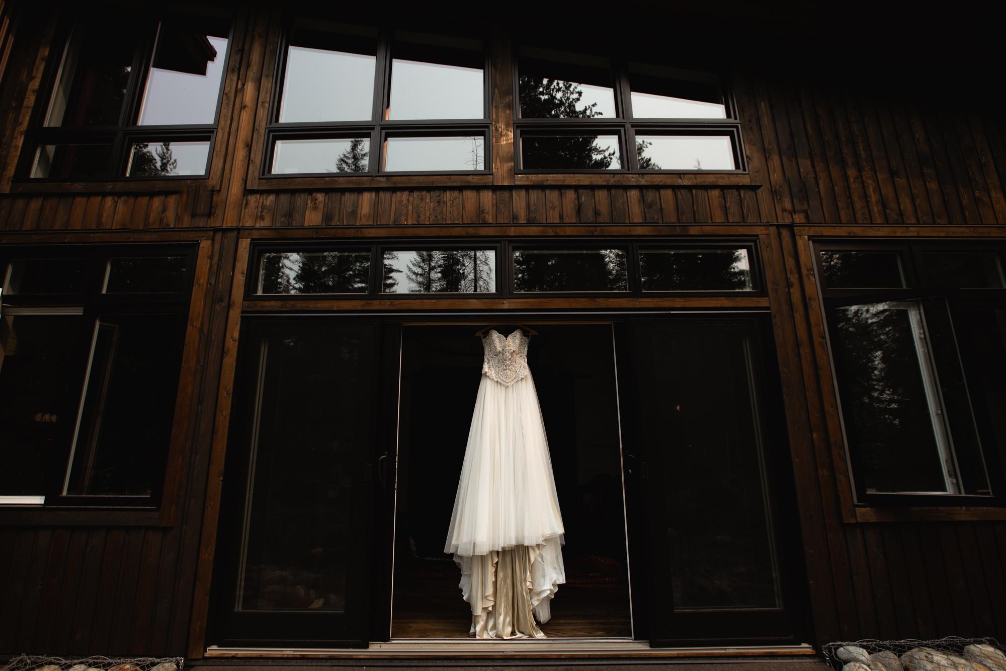 BC Adventure Elopement Dress