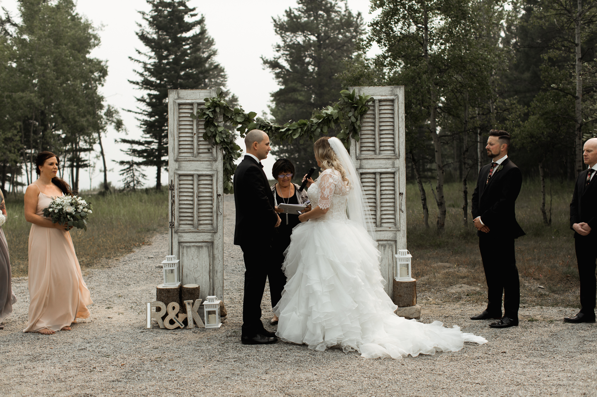 Karolyn Amp Rob Kananaskis Mountain Resort Wedding