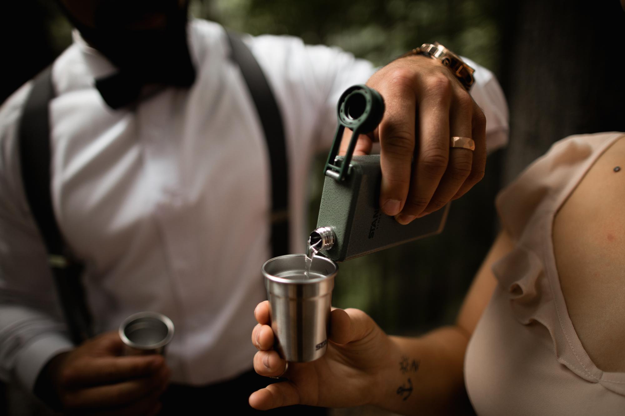 gin shots