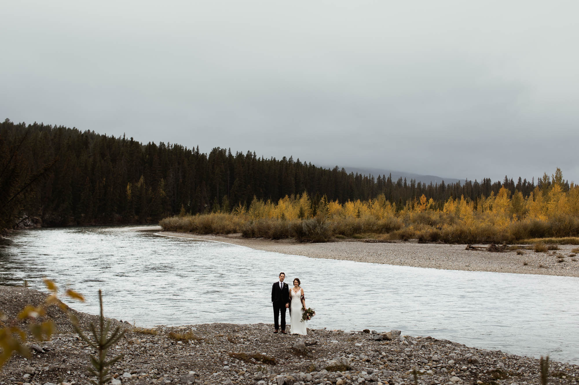 Canmore Wedding Photographer - Willow and Wolf