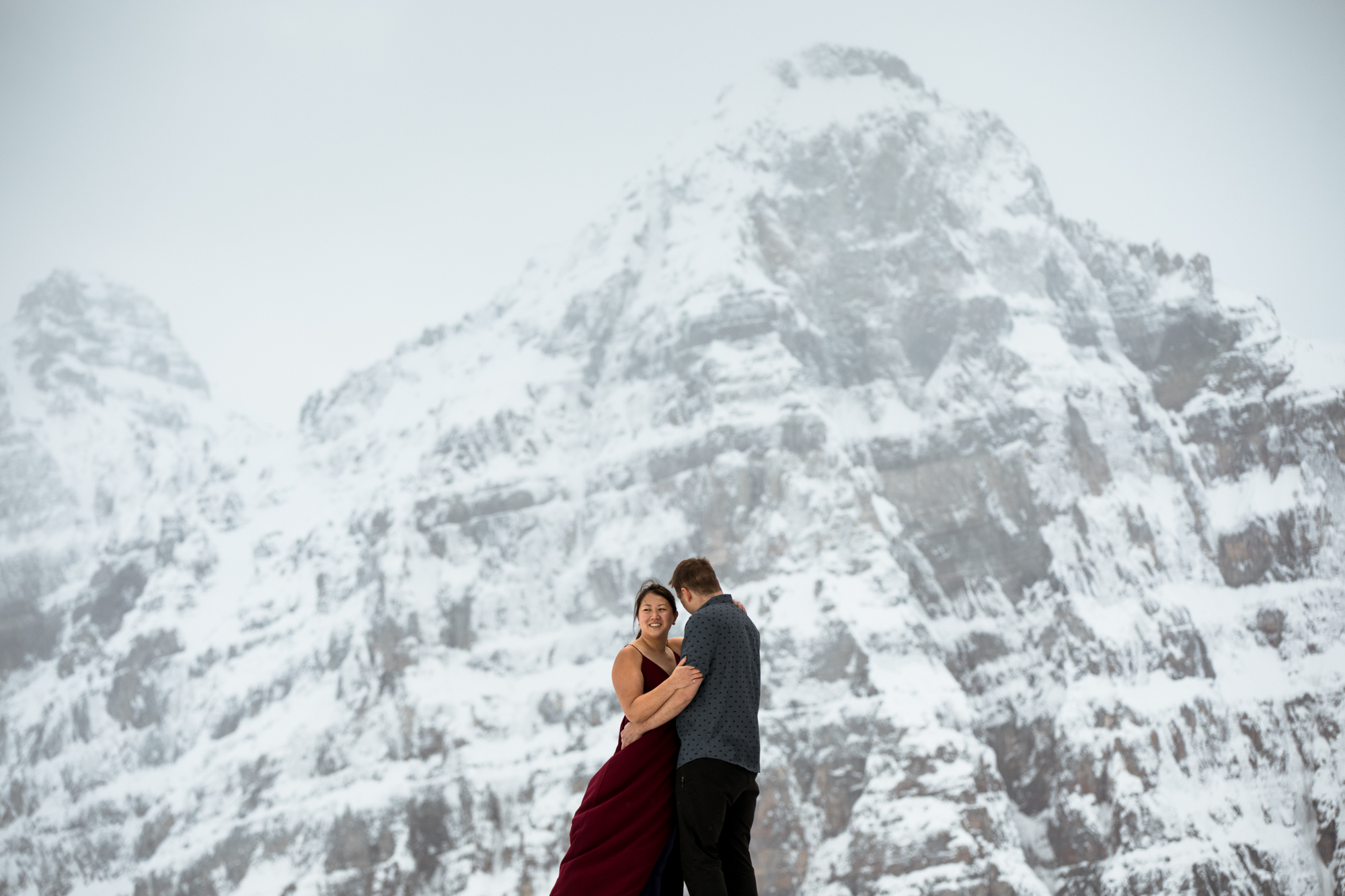 Larch Valley Engagement Session - Willow and Wolf Photography