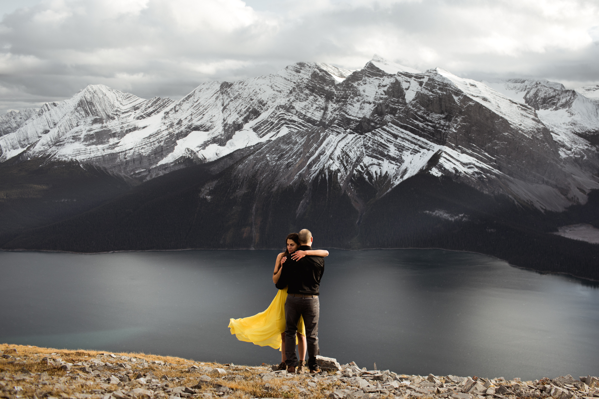 Kananaskis Engagement Photography