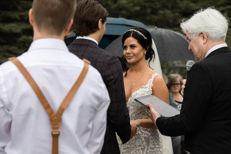 canmore ceremony bride