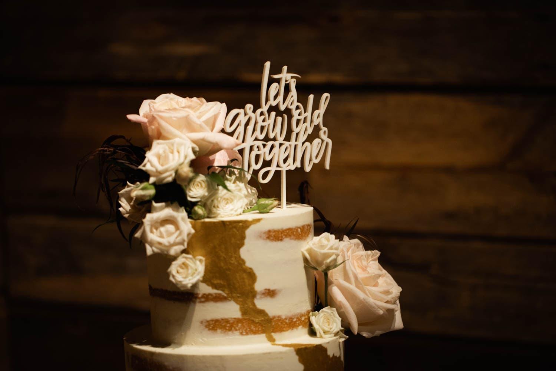 wedding cake canmore