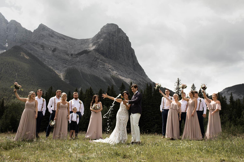 Canmore Cornerstone Theatre Wedding