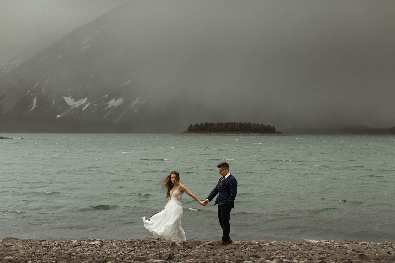Kananaskis Hiking Elopement Photographers