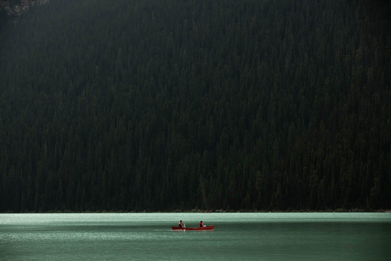 Lake Louise Canoe Rental