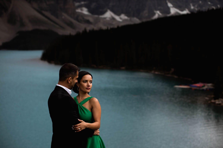 Moraine Lake Wedding Portraits