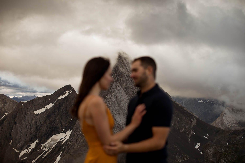 engagement shoot on smutwood peak