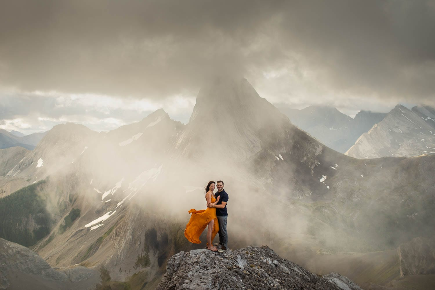 mountain top engagement