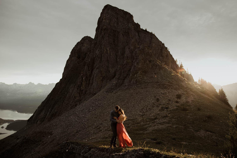 Kananaskis Sunrise Hiking Engagement