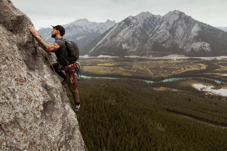 Banff Climbing Elopement Photographers