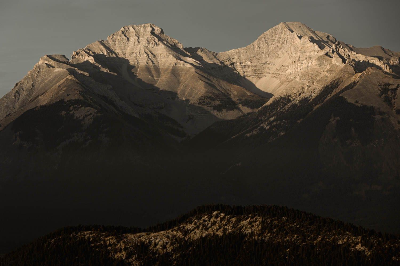 Banff mountain landscape