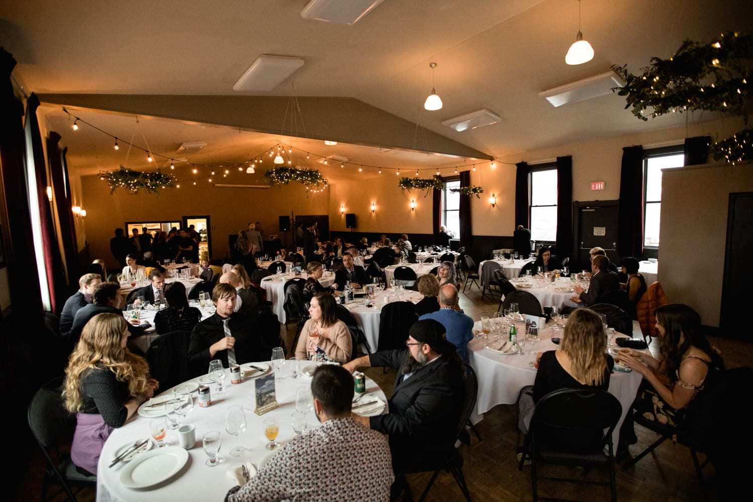 canmore wedding reception