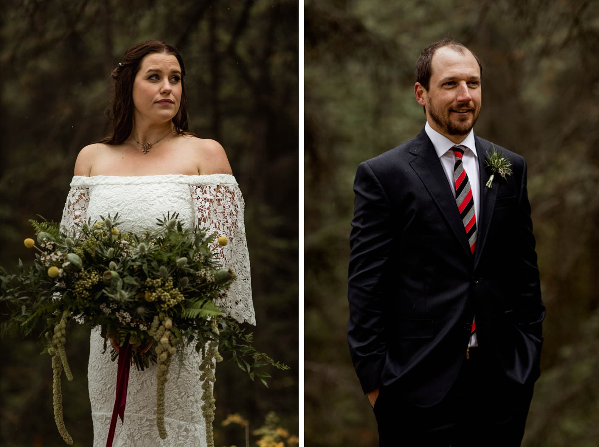 canmore wedding ceremony