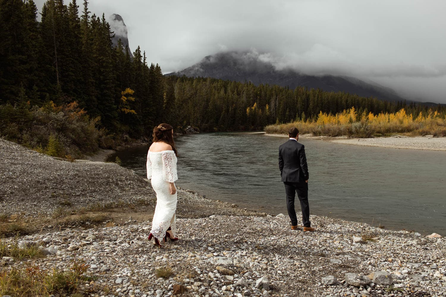 canmore first look location