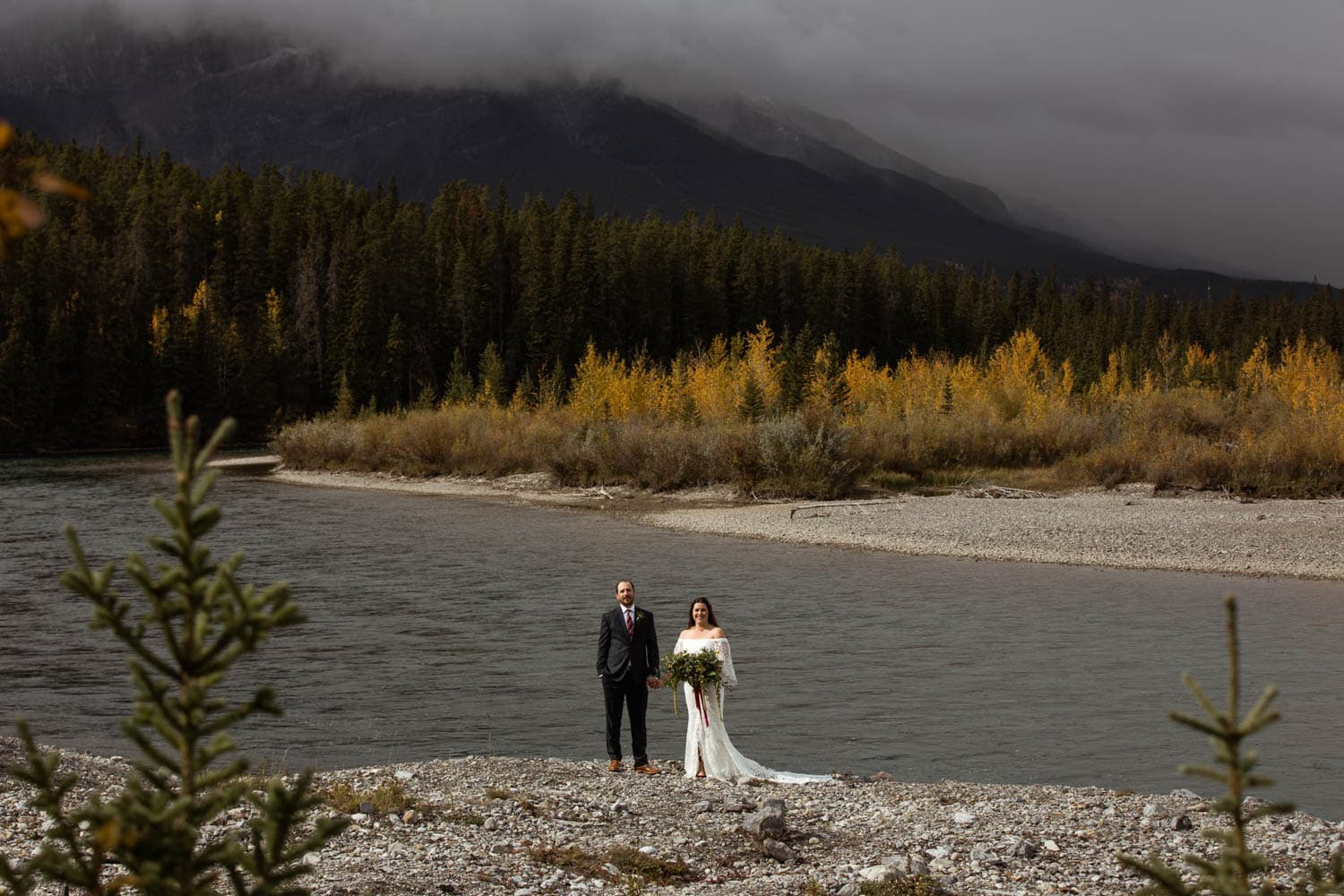 Canmore Rundleview Park Wedding