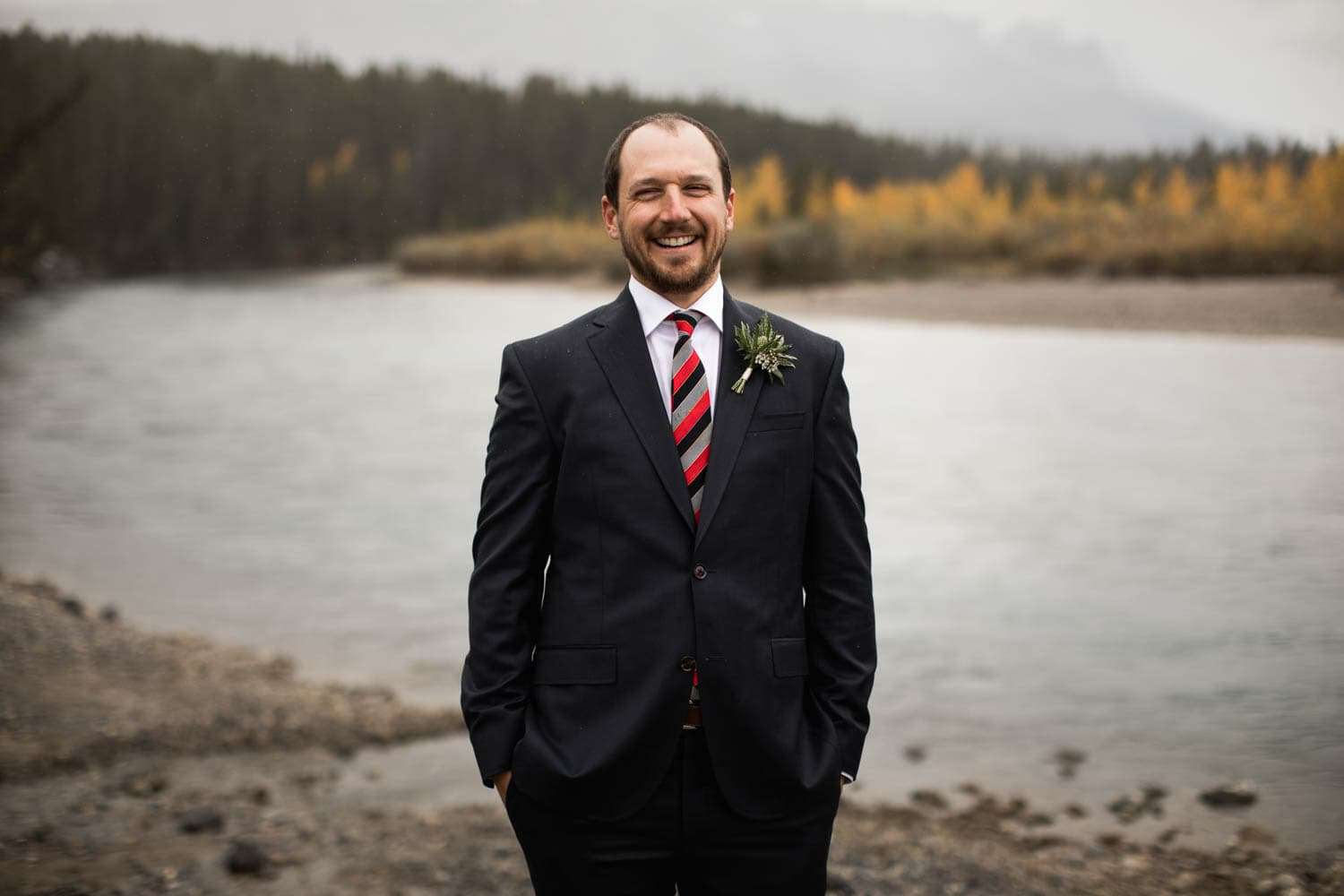 Canmore wedding portraits