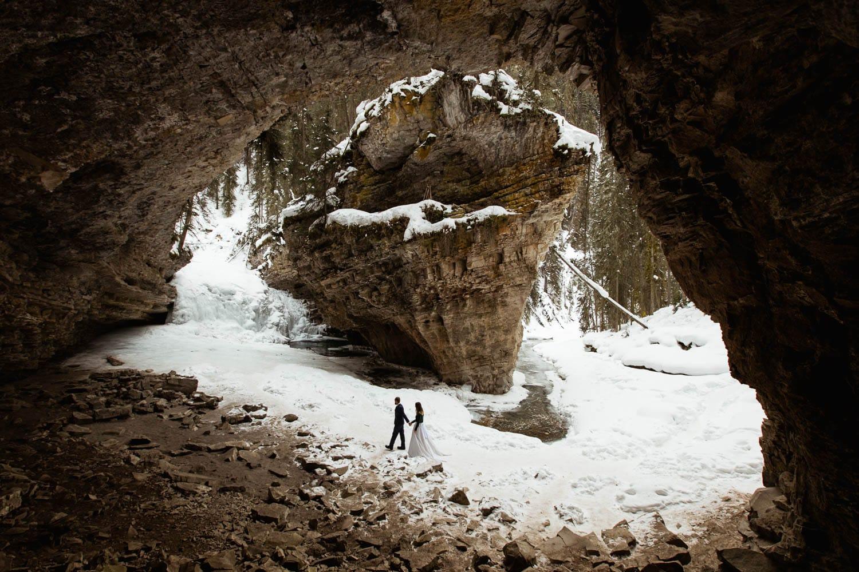 Banff Winter Elopement