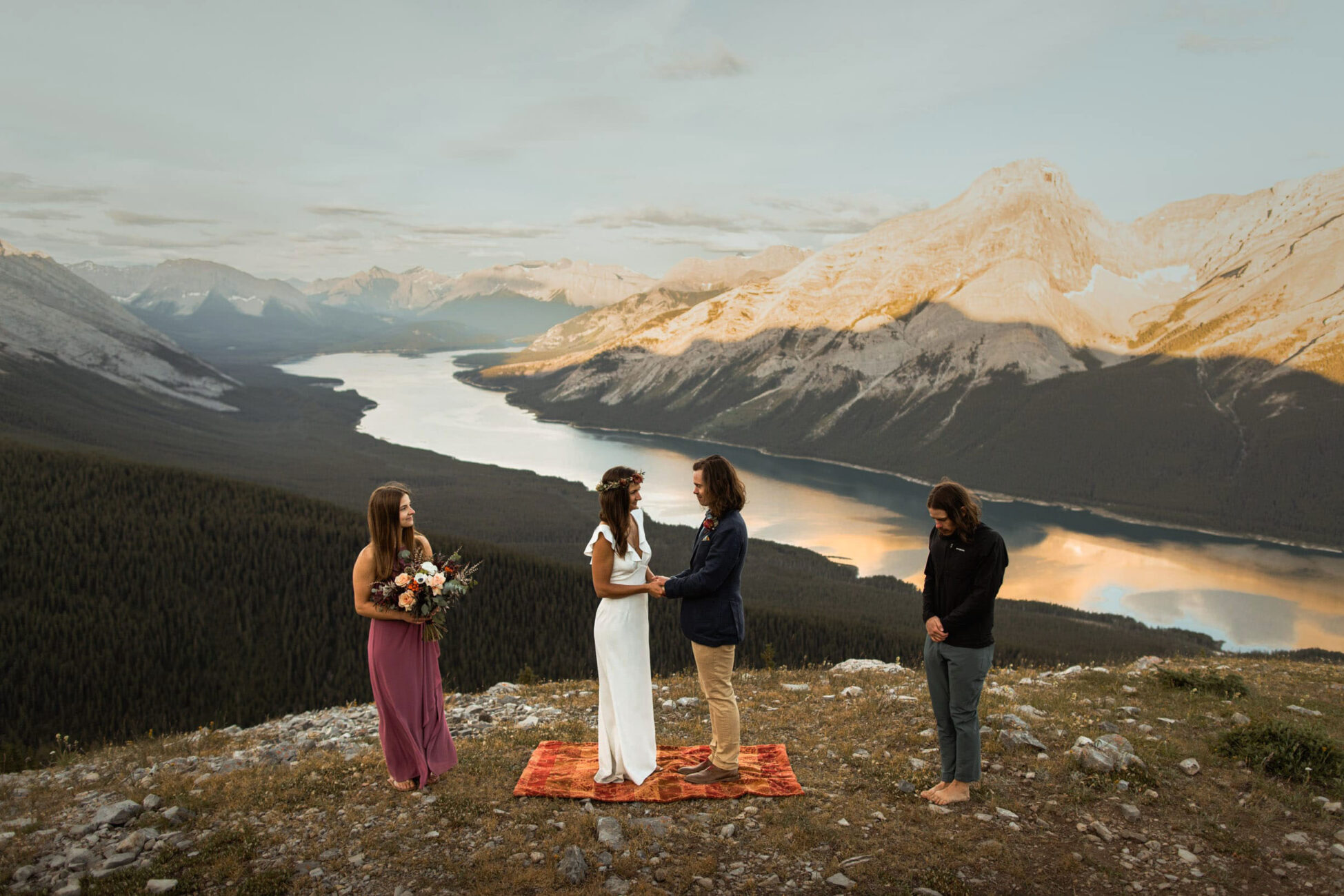 Canmore Adventure Elopement Photographers