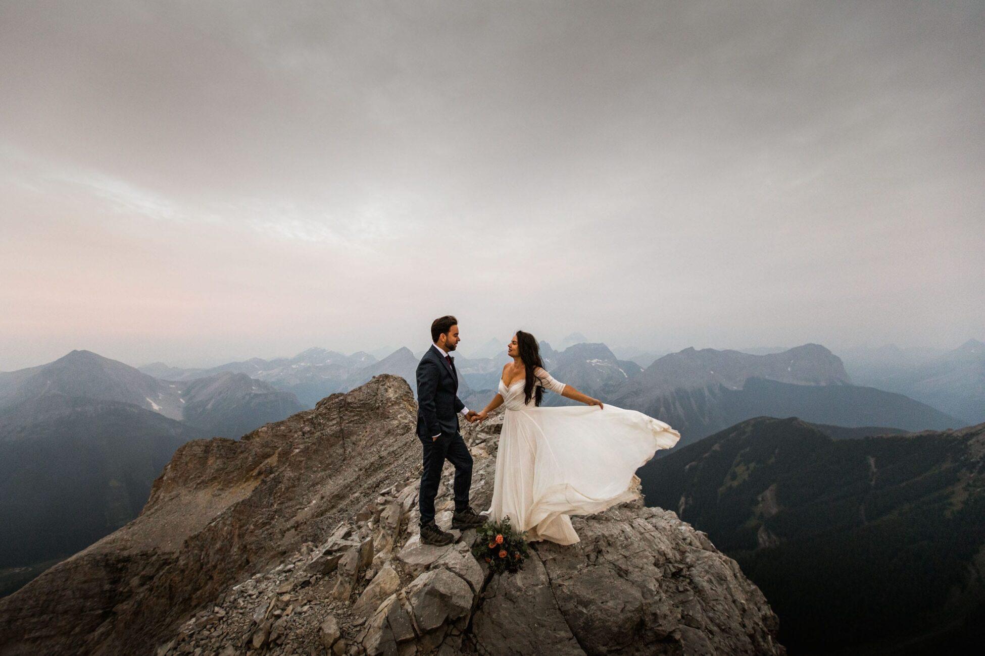 Kananaskis Post Wedding Adventure Session