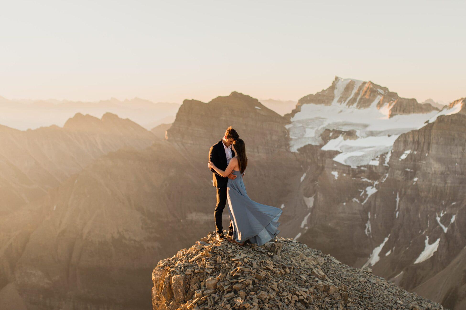 Banff Adventure Engagement Session