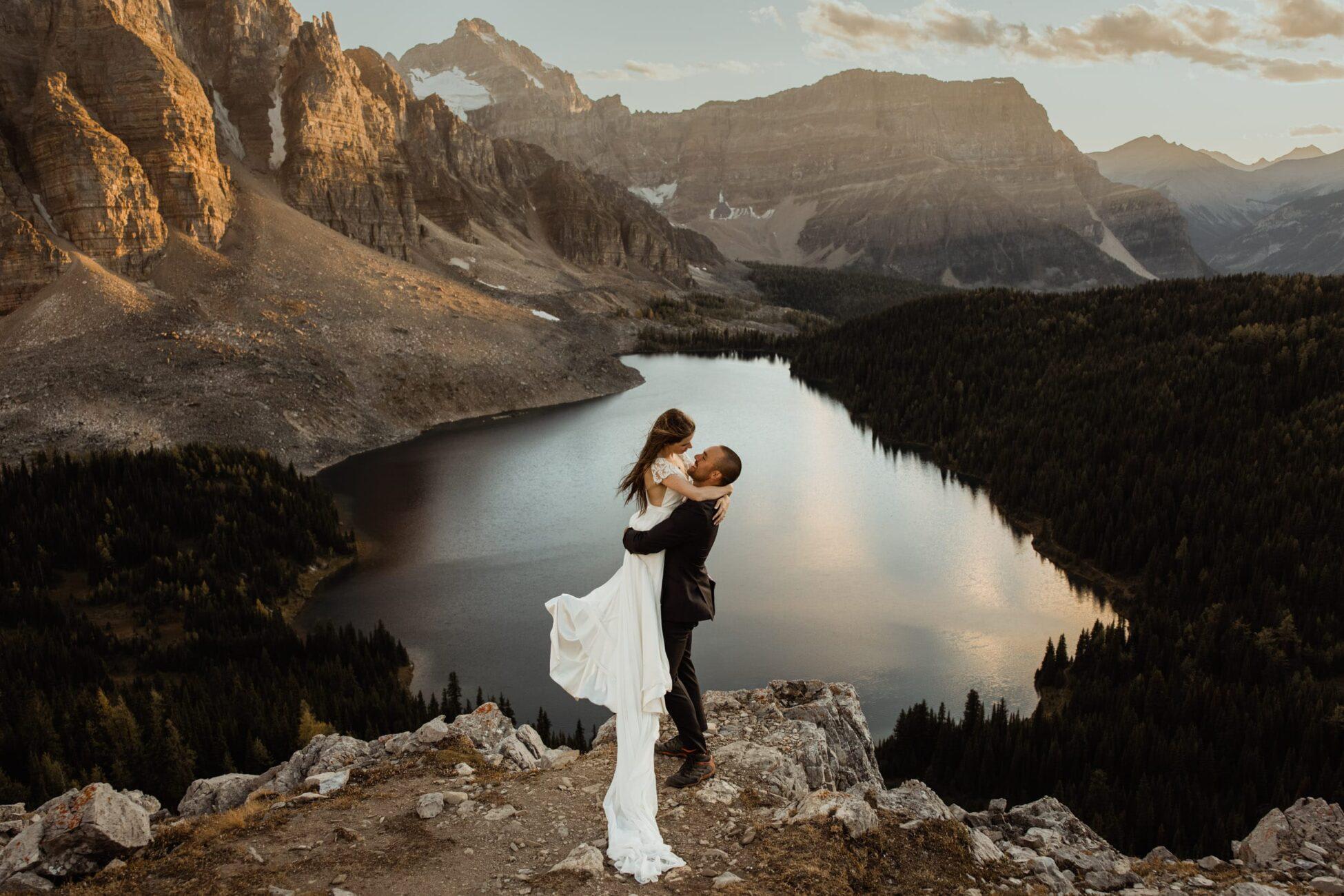 Mount Assiniboine Post-Wedding Session