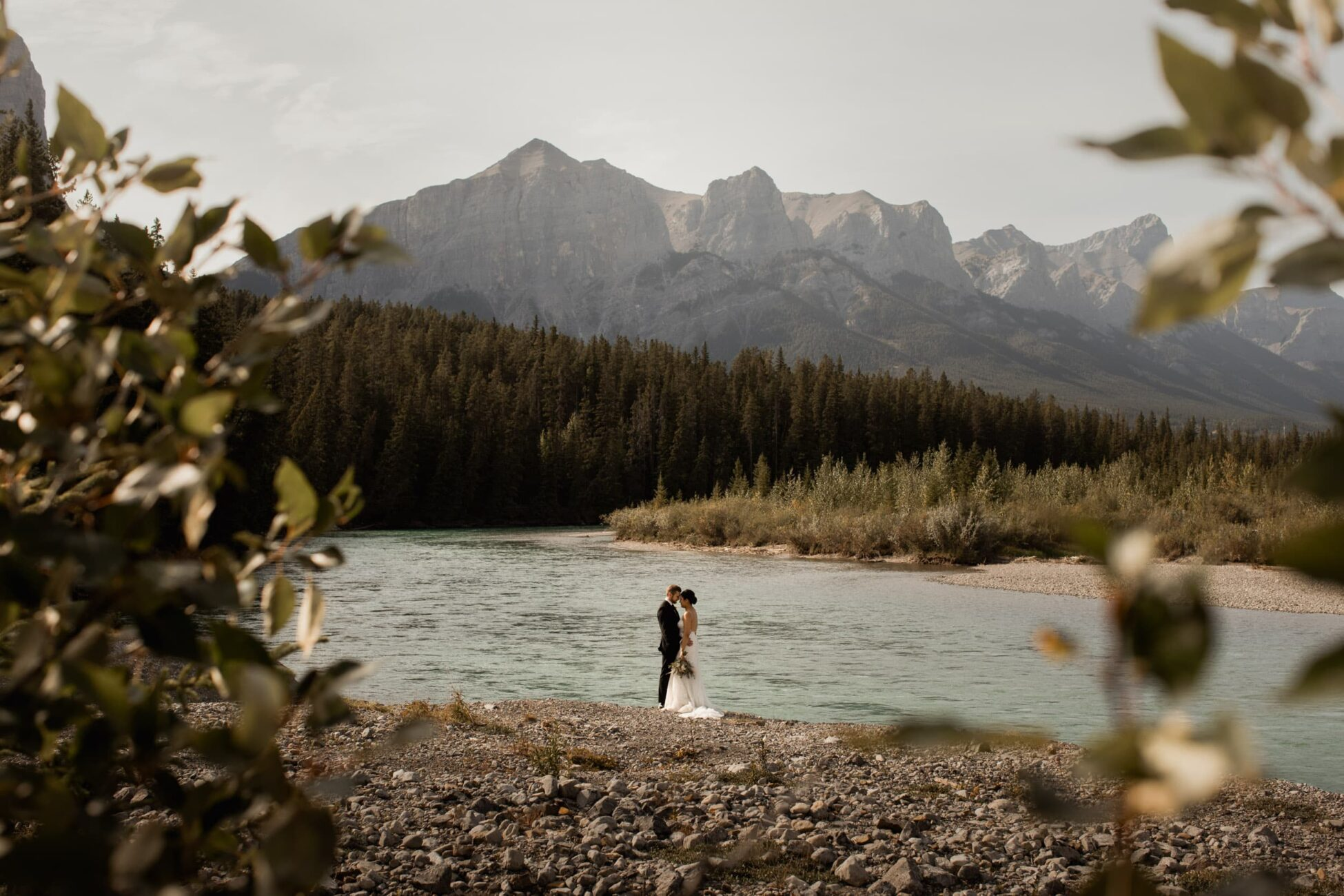 Canmore Ranch Intimate wedding