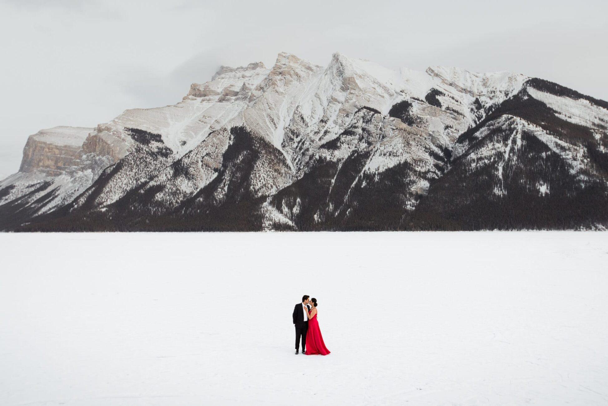 Banff Winter Engagement Session