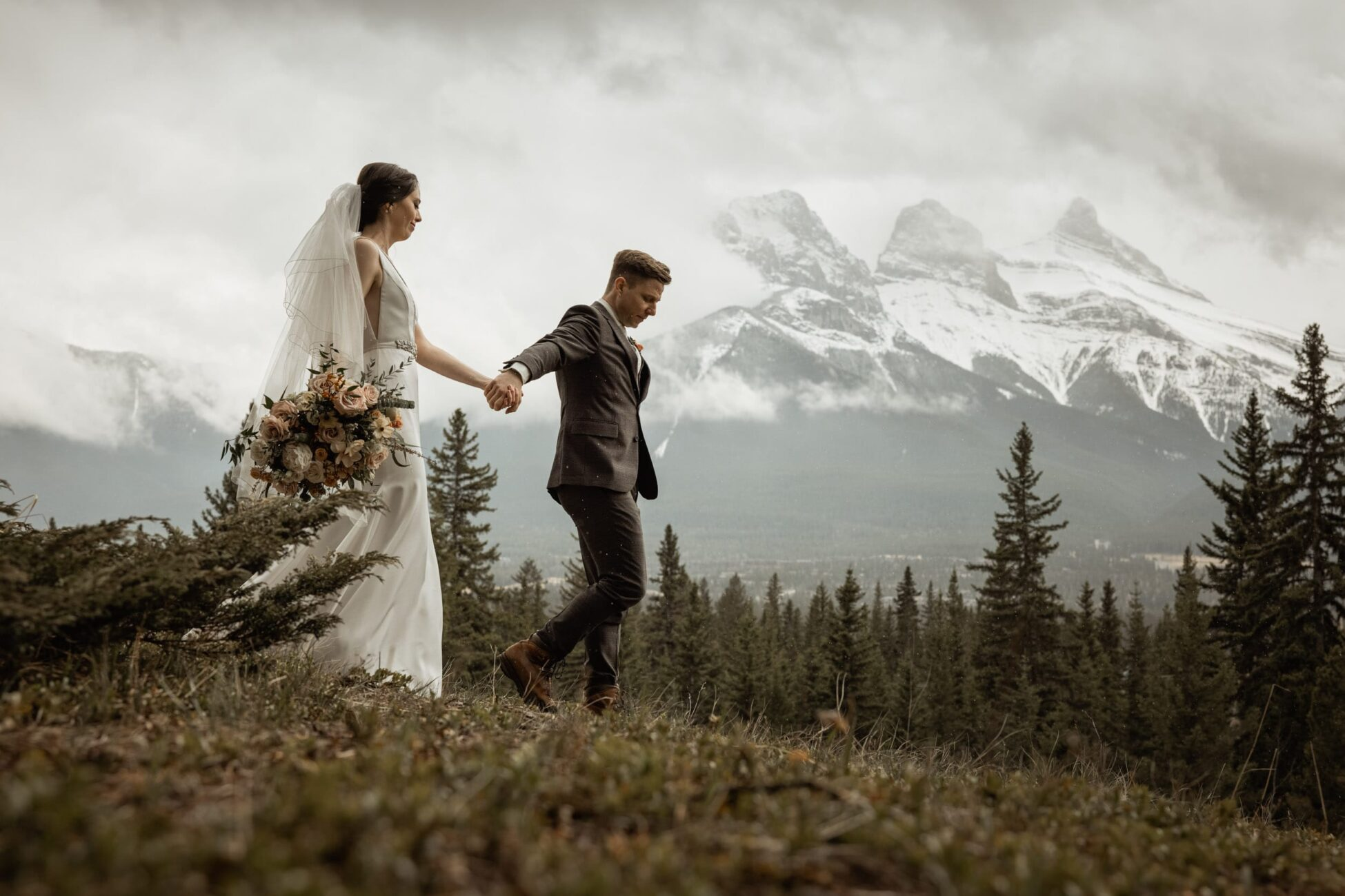 moody canmore elopement
